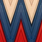 abstract ontwerp met stukken plasticinebars in blauw, wit en rode kleuren, achtergrond en textuur Stock Foto