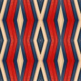 abstract ontwerp met stukken plasticinebars in blauw, wit en rode kleuren, achtergrond en textuur Royalty-vrije Stock Foto's