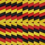 abstract ontwerp met stukken plasticinebars in zwart, geel en rode kleuren, achtergrond en textuur Royalty-vrije Stock Afbeelding