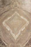 Abstract ontwerp op marmeren vloer Stock Afbeelding