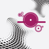 Abstract ontwerp voor uw bedrijfsideeën Royalty-vrije Stock Foto