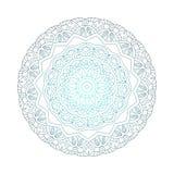 Abstract ontwerp zwart wit element Ronde mandala in vector Grafisch malplaatje voor uw ontwerp Het cirkelpatroon wordt gebruikt o Stock Foto