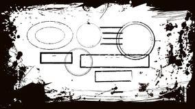 Abstract ontwerpkader Stock Afbeeldingen