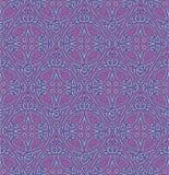 Abstract oostelijk naadloos patroon Royalty-vrije Stock Afbeeldingen