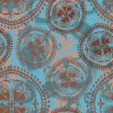 Abstract oosters naadloos patroon Stock Fotografie