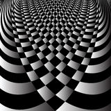 Abstract op art design. Royalty Free Stock Photos