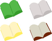 Abstract Open Books Stock Photo