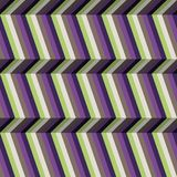 Abstract optic illusion stripes Stock Photography