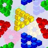 Abstract optical illusion Stock Photos