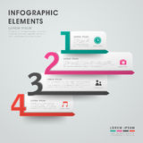Abstract option banner infographics Royalty Free Stock Image