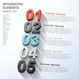 Abstract option infographics Royalty Free Stock Image
