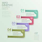 Abstract option infographics Stock Image
