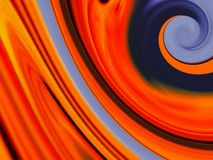 Abstract orange Royalty Free Stock Image