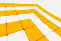 Abstract orange arrows Royalty Free Stock Photo