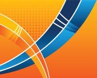 Abstract orange background Stock Photos