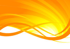 Abstract orange background. Clip-art Stock Photo