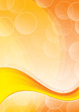 Abstract orange background Stock Images