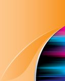 Abstract_orange_background_2 Lizenzfreie Stockbilder