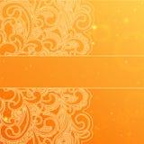 Abstract orange background Stock Image