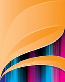 Abstract_orange_background_4 Stockbild