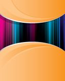 Abstract_orange_background_6 Stock Photos