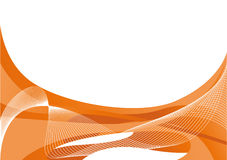 Abstract orange background. With free space for text Stock Photography