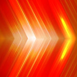 Abstract orange background with arrows. Vector illustration EPS 10 Stock Photos