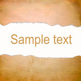 Abstract orange background with blank space for text Stock Images