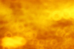 Abstract orange background. Blurred bokeh abstract orange background Stock Photo