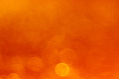 Abstract orange background. Blurred bokeh abstract orange background Royalty Free Stock Image