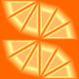 Abstract orange background in 3d Royalty Free Stock Image