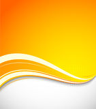 Abstract orange background Stock Photography