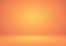 Abstract Orange background layout design,studio,room, web templa Stock Images