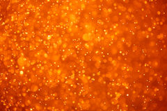 Abstract orange background. With particles Royalty Free Stock Photo