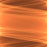 Abstract orange background pattern. Bright lines. Royalty Free Stock Image