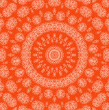 Abstract orange background with pattern Stock Image