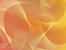 Abstract orange background with ribbons Royalty Free Stock Image