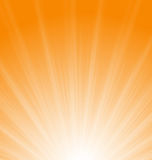 Abstract Orange Background Sun Rays Royalty Free Stock Images