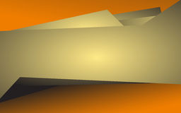 Abstract orange background. Vector Royalty Free Stock Photos
