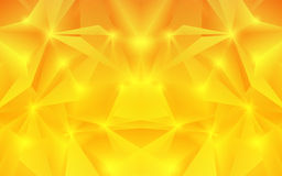 Abstract orange background. Vector. Clip-art Royalty Free Stock Photo