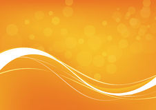 Abstract orange background. Vector. Clip-art Royalty Free Stock Photography