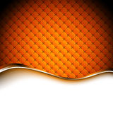 Abstract orange background. Vector illustration Stock Photos