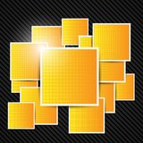 Abstract orange background. Vector illustration. Royalty Free Stock Photo