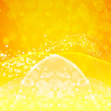 Abstract orange background. Vector Illustration. Clip-art Royalty Free Stock Photo