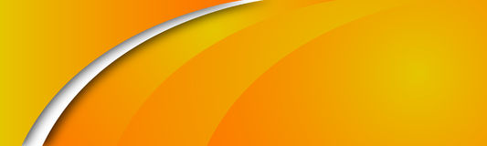 Abstract orange banner Royalty Free Stock Photo