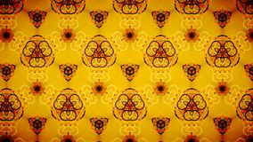Abstract orange black color pattern wallpaper Stock Images