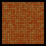 Abstract orange and black geometric background Royalty Free Stock Photography