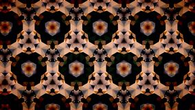Abstract orange black and gold shamming wallpaper. Abstract orange black and gold shamming background royalty free illustration
