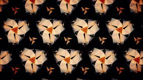 Abstract orange black and gold shamming wallpaper. Abstract orange black and gold shamming background Stock Photo