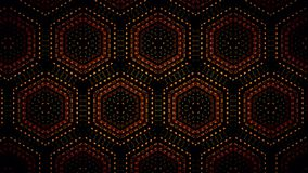 Abstract orange black and green shamming wallpaper Royalty Free Stock Photo